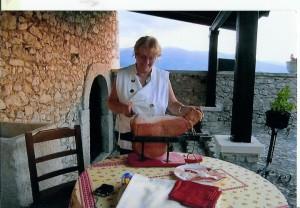 Angela Cercone, maestra, cuoca e ristoratrice