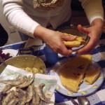 Pizza e foglie Natale 2011- 2