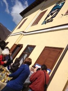 Sosta a Palena sulla Sulmona Carpinone