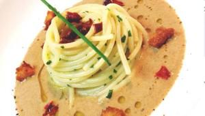 spaghetto olio e cozze