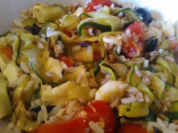 insalata di farro e riso