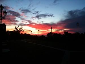 L'alba a Spoltore