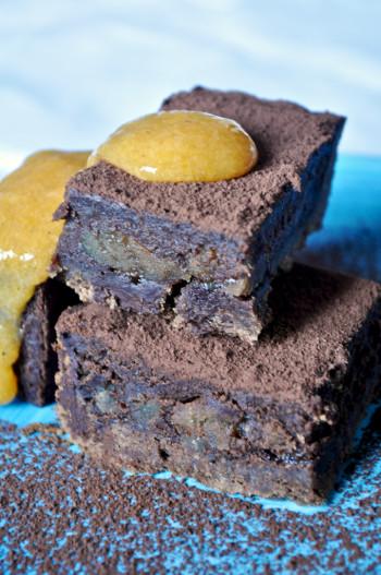Crostata cioccolato marron glace cachi