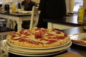 La pizza di Valerio a Tutti i Santi