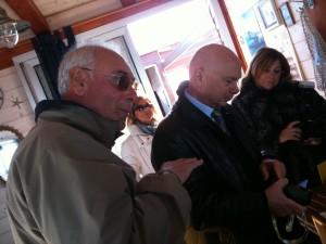 a sinistra Giacomo Fanesi