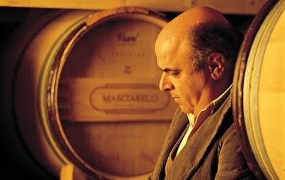 Gianni Masciarelli in una celebre foto