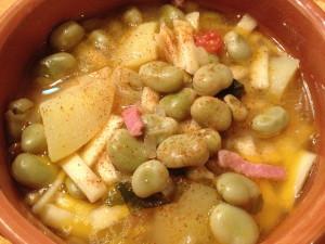 pasta fave e patate