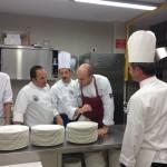 La brigata di cucina di gala