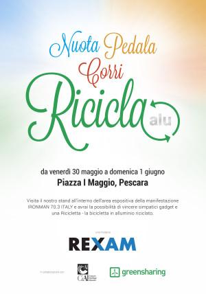 manifesto-REXAM_nuota-pedala-corri-ricicla