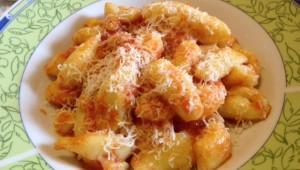 gnocchi d'Abruzzo