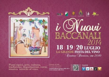 I Nuovi Baccanali, festa del vino a Tollo