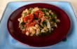 insalata baccalà ceci peperoni