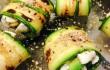 zucchine con caprino
