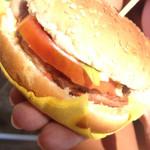 hamburger di tonno