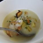 La Zuppa con cozze e patate
