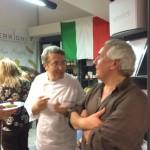 Lo chef e Gaetano Verrigni
