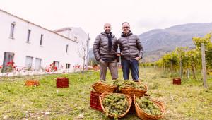 Niko Romito e Andrea Di Fabio, DG Feudo Antico presentano il nuovo Pecorino