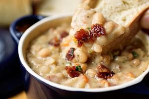 Zuppa di fagioli di Paganica