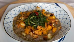 zuppa lenticchie e cicoria