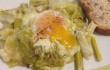uova di papera con porri