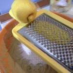 neole riso, buccia-limone