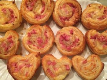 muffin di prosciutto