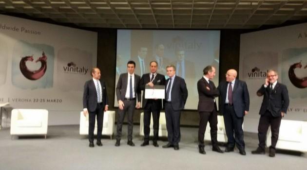 vinitaly, premio cangrande a Dragani