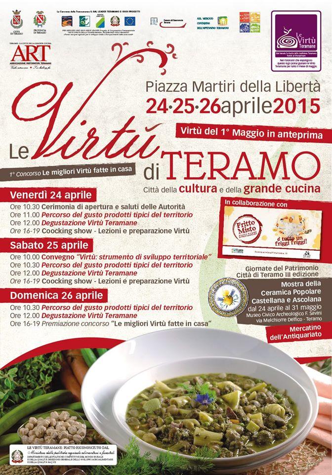 Teramo tre giorni in piazza con le virt l 39 abruzzo servito quotidiano di ricette e - Le virtu in tavola ...