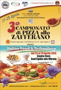 campionato pizza zafferano locandina