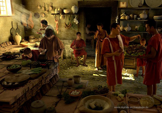 Sono golosi questi romani coldiretti all 39 expo parla dei for Cibi romani