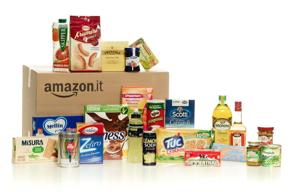 Amazon vende anche alimentari e articoli per la casa l for Amazon oggetti per la casa