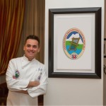 Narciso Cicchitti presidente dei cuochi pescaresi e alla guida della delegazione culinaria