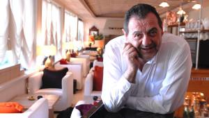 Gianfranco Vissani nel suo ristorante