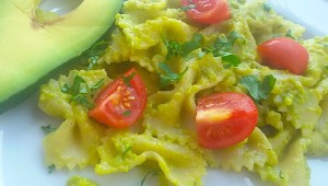 farfalle avocado