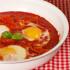 uova con peperoni e pomodori