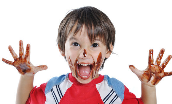 cioccolato bambino