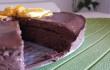 Torta vegan cioccolato e arancia