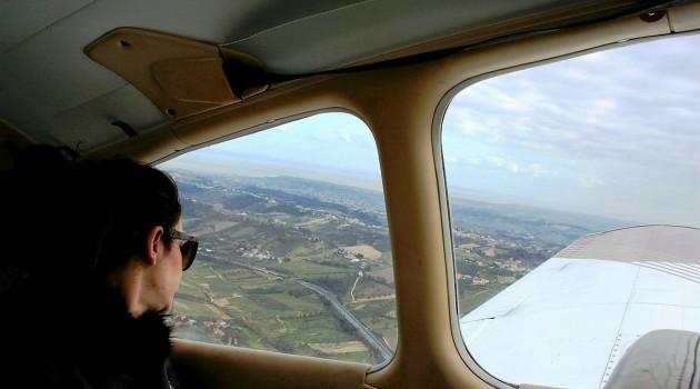 A bordo del velivolo
