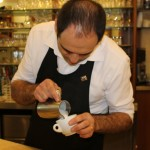 Darip Ciarlantini dimostrazione Latte Art da Caprice Pescara02