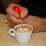Darip Ciarlantini dimostrazione Latte Art da Caprice Pescara03