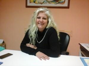 Antonella Allegrino nel poliambulatorio
