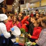 La chef Roberta Guidi alla Conad di via Milano Pescara01