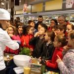 La chef Roberta Guidi alla Conad di via Milano Pescara06