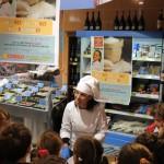La chef Roberta Guidi alla Conad di via Milano Pescara07
