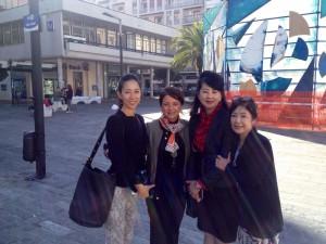 Yasuko Ishikawa con Luce Palumbo a Pescara