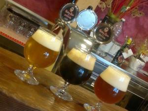 Le tre birre Golden Rose