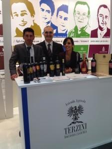 Domenico Terzini e lo staff