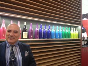 Marcello Zaccagnini e le color bottles