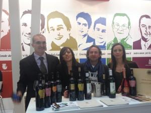 Festa e lo staff a Verona